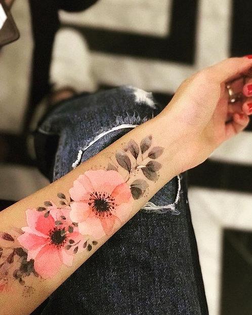 FLOWER TATTOO 5