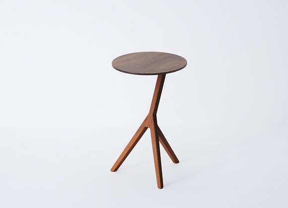 KIRIN Side Table - Sapele