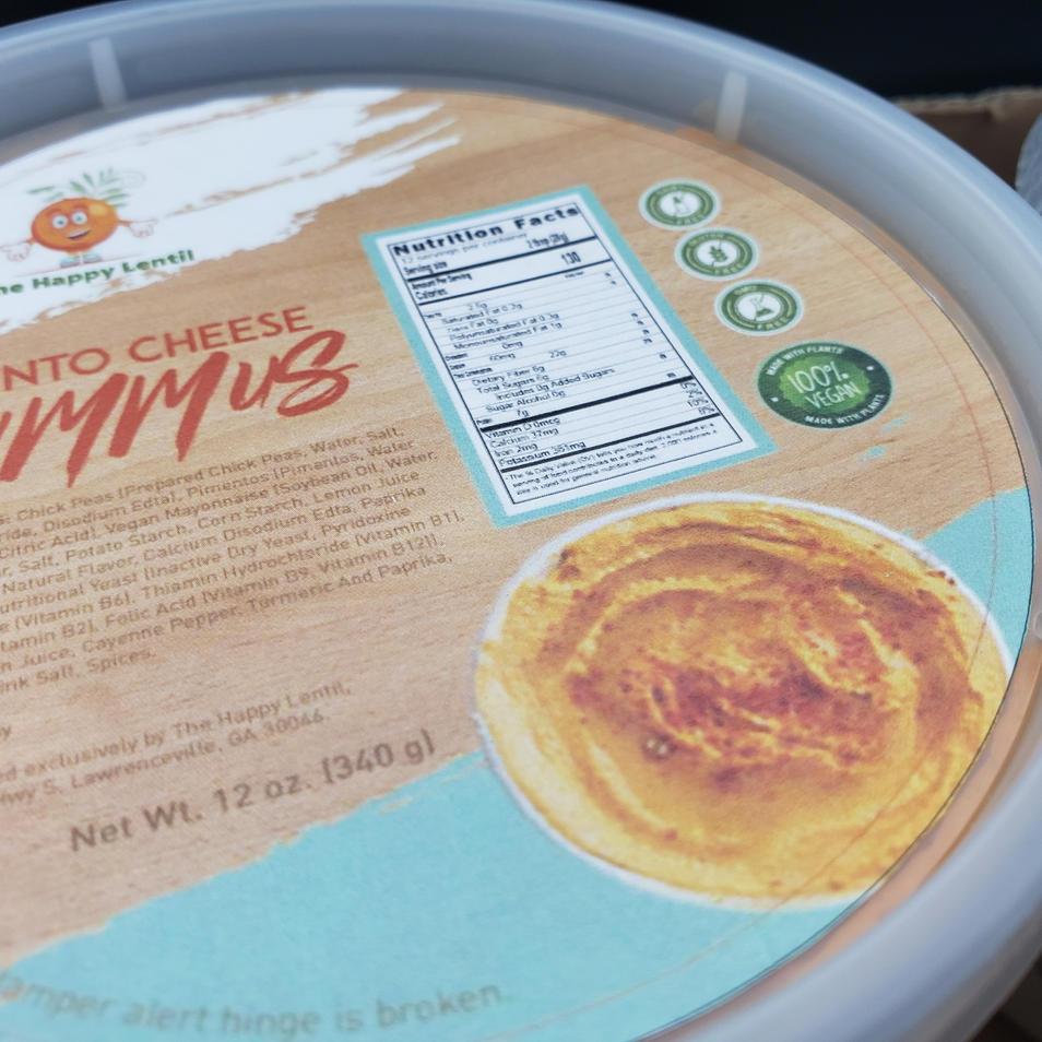 Pimento Cheese Hummus