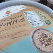 Lentil Walnut Hummus
