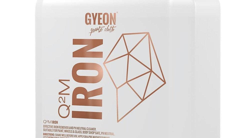 Gyeon Q2M Iron ממיס מתכות מחישוקים וצבע הרכב גלון