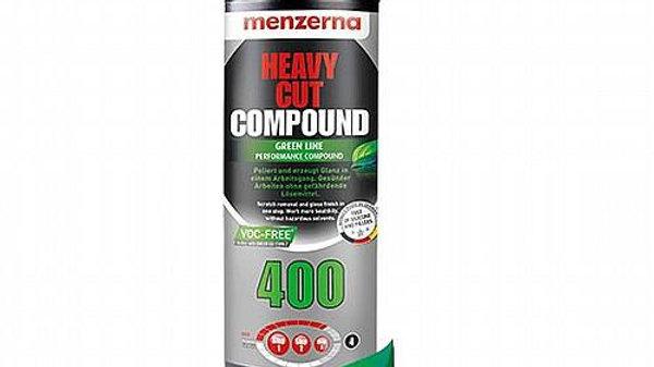 קומפאונד חיתוך גס Menzerna Heavy Cut Compound 400 Green Line - 'VOC Free