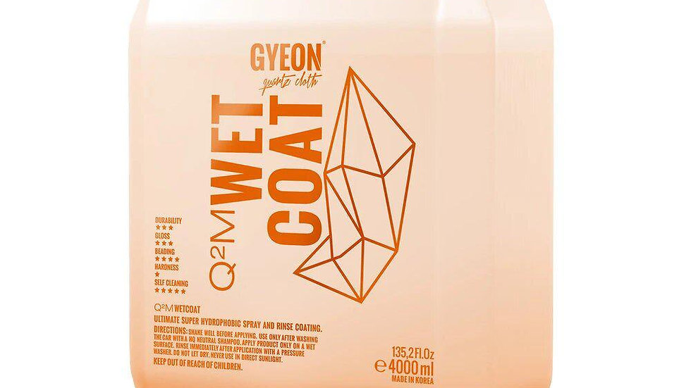 אוטם צבע על רטוב GYEON Q2M Wet Coat גלון