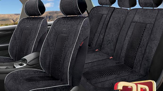 כיסויי מושבים 3D דגם TARGET