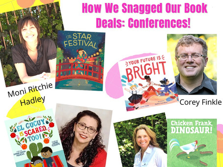 How We Snagged Our Book Deals: Conferences! (part 2)
