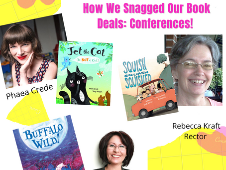 How We Snagged Our Book Deals: Conferences! (part 1)