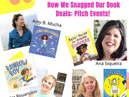 How We Snagged Our Book Deals: Pitch Events!