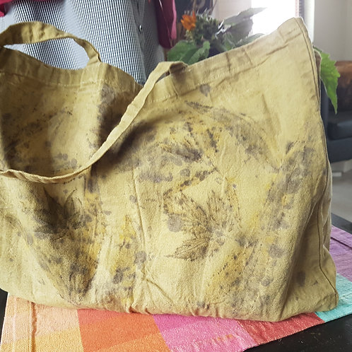 """Large cotton tote bag """"Hedgerow"""""""