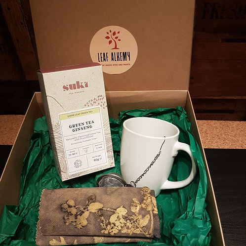 Sage & Euphorbia Serviette & Tea Set