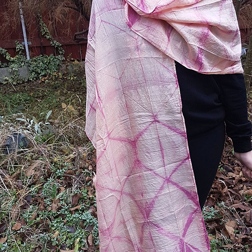 Rhapsody in Pink Silk scarf