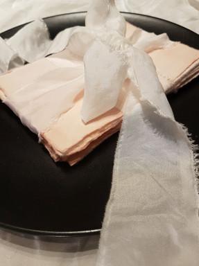 hand dyed khadi paper