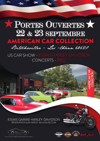 22 & 23 sept - Portes Ouvertes American Car Collection