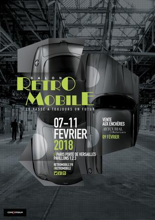 Du 7 au 11 février - Salon Retromobile