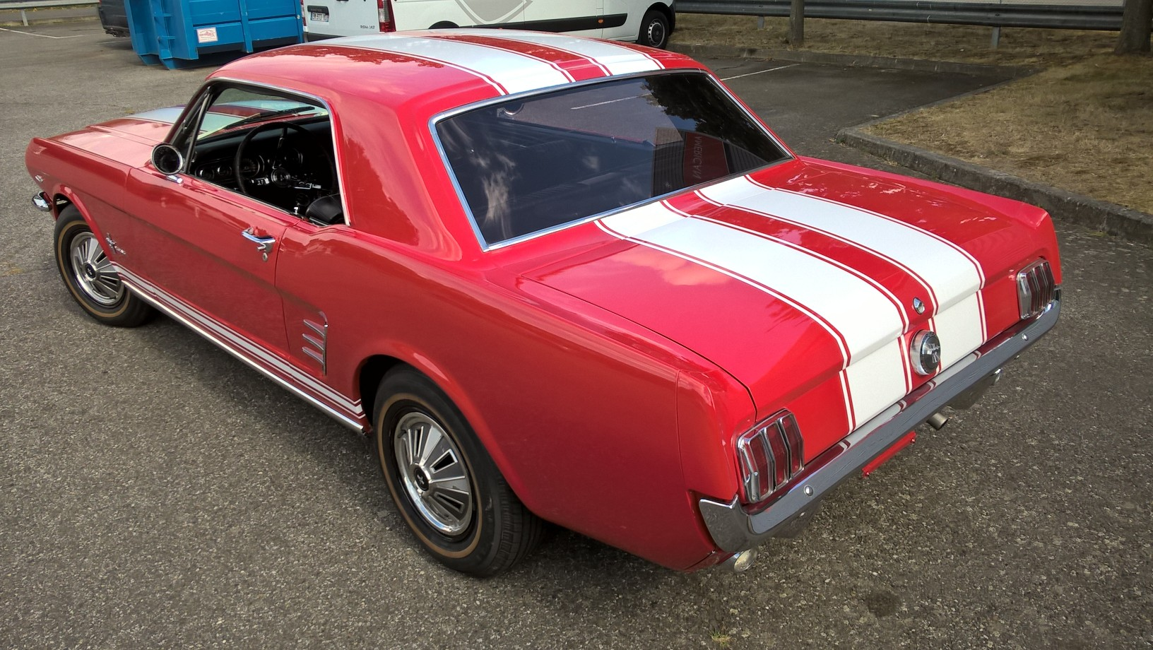 MUSTANG ROUGE 5
