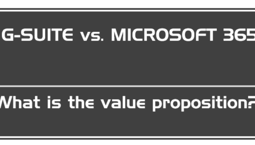 Google G-Suite v Microsoft O365 - Digital 2020: Substituting tradition or transforming futures?