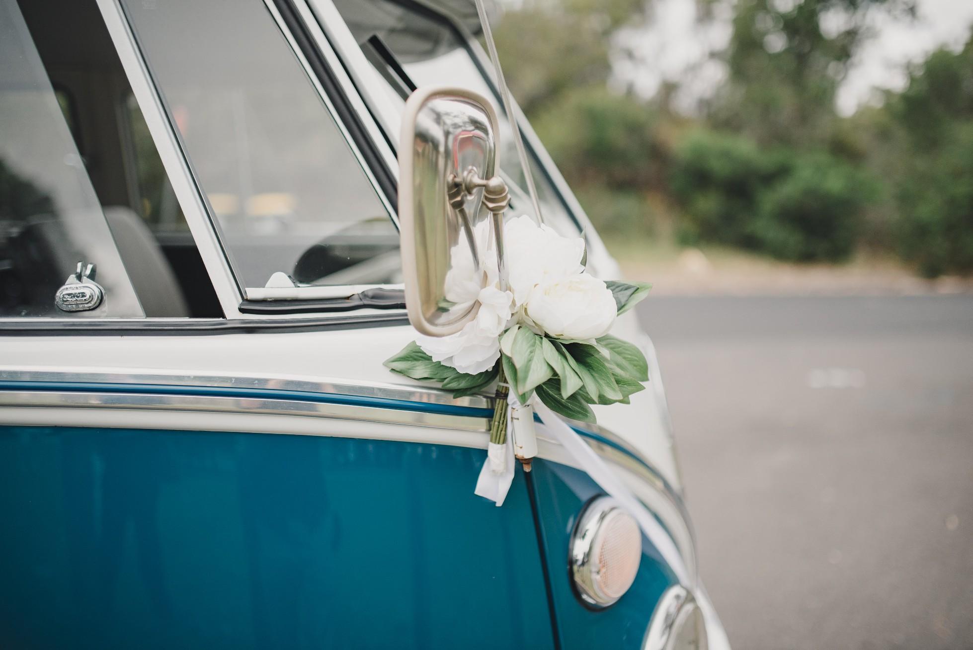 Wedding VW Kombi
