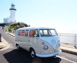 Kombi at Byron Bay Lighthouse
