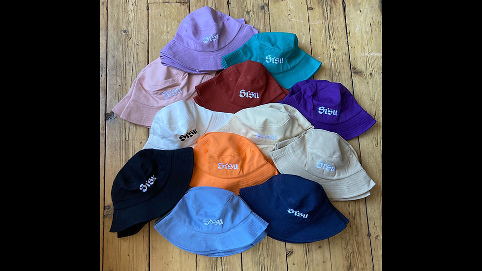 Embroidered Sisu Hats
