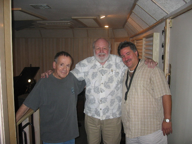 Pete Jolly, Bob Freedman, Jerry Donato