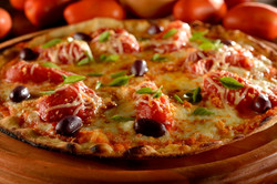 Pizza de tomate Pelado
