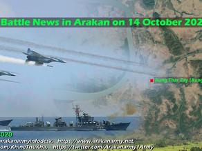 Battle News in Arakan on 14 October 2020