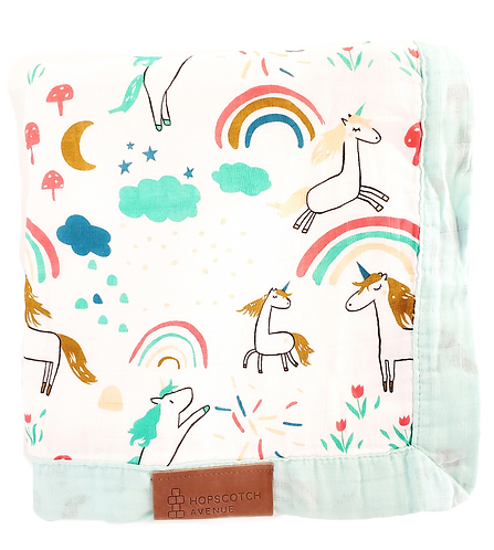 Rainbows & Unicorns - Maxwell Blanket