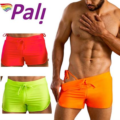 Pali Mens Sexy Gay Premium Quality Swimsuit Swim Surf Board Beach Briefs Trunks