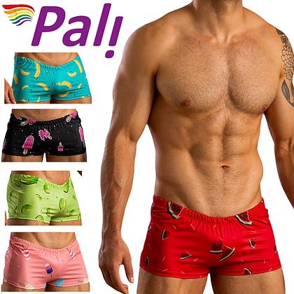 Men's Premium Beach Swimsuit Swim Briefs Sweet Treat Stamped Eat Me Trunks