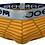 Thumbnail: Striped Solid Silver Elastic Premium Brief
