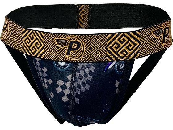 Sexy Men's Lingerie Jockstrap Stretch Open Rear Underwear Front Pouch