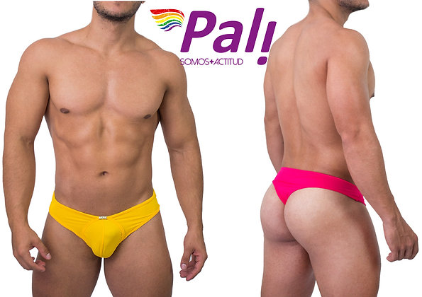 Seductive Neon Cheecky Thong For Men