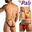 Thumbnail: Backless Jockstrap For Men Open Rear & Front Mesh Underwear Mini Pouch