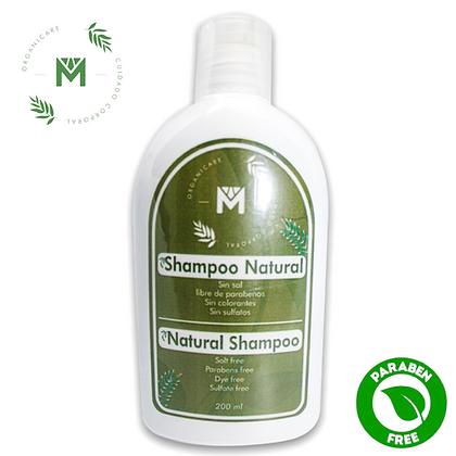 Organicare Natural Shampoo No Dye, Salt, Sulfate, Parabens Shampoo 6.78oz
