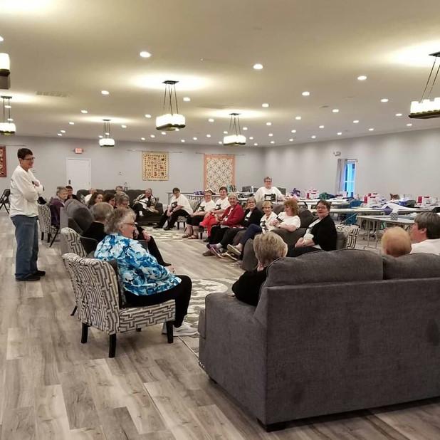 Event Center Quilting Retreats Hamilton MO
