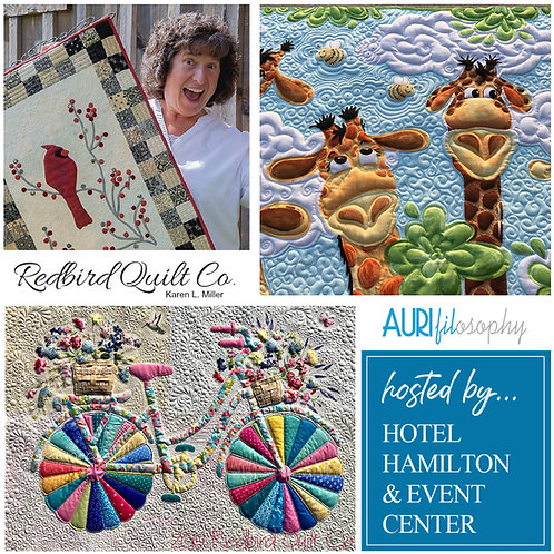 Fall Free Motion Quilting Lecture Series