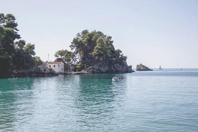 Parga, Grèce.