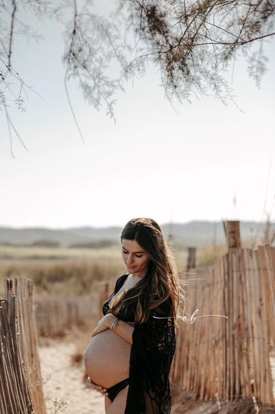 Séance grossesse en extérieur
