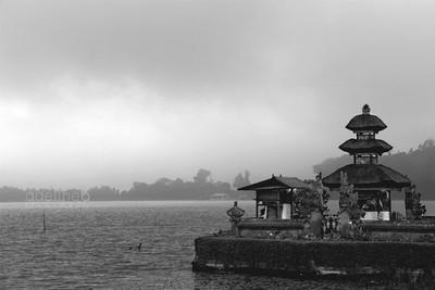 Ulun Danu Bratan Temple, Indonésie.