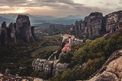 Kalampaka, Grèce.