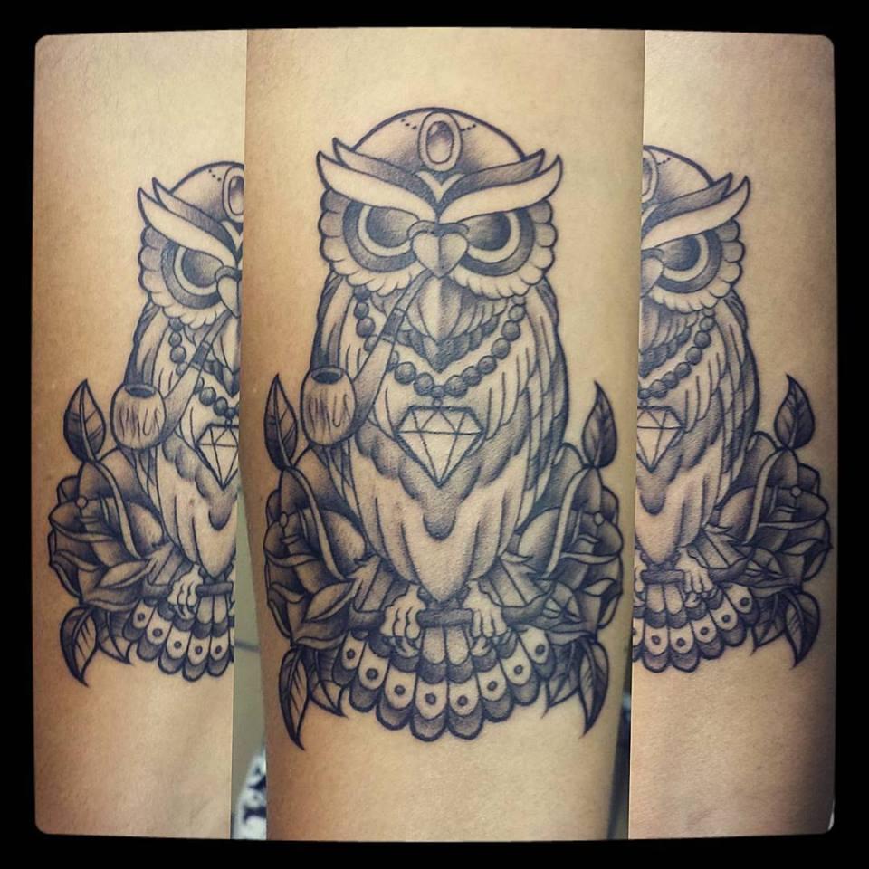smoking owl
