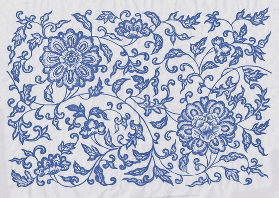 The symbolism of Chinese ceramic decoration (lotus and plum flower)