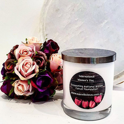 International Women's Day Candle
