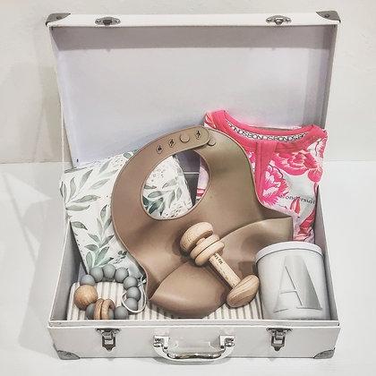 Welcome to the World - Newborn Suitcase Hamper