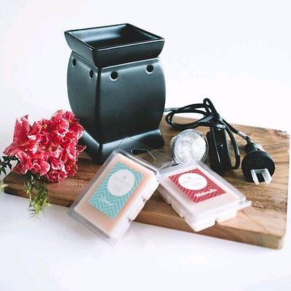 Ash Oil Burner - 3 FREE Wax Melts