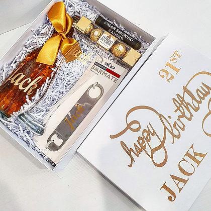 Beer & Cigar Gift Hamper - For Him