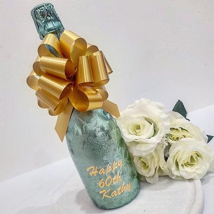 Personalised Aqua Bottle with Vinyl Print