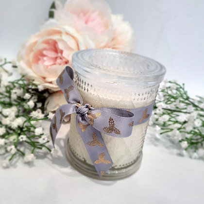 Glitzy Diamond Candle