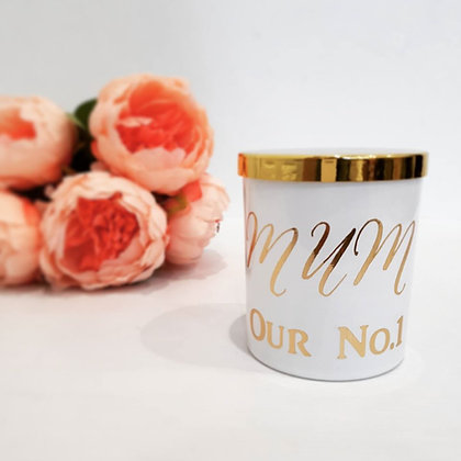 MUM Our No.1 - Personalised Candle