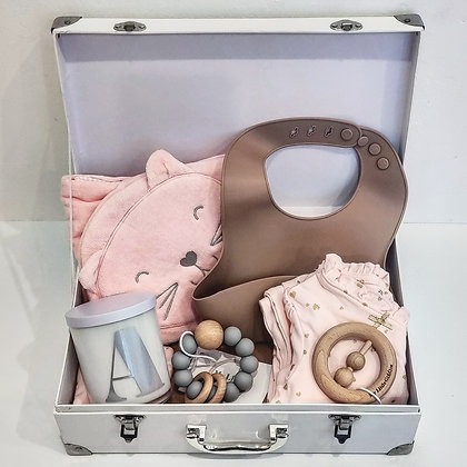 Hello Baby - Newborn Suitcase Hamper