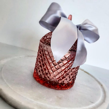 Dome Rose Gold Tiffany Jar - Large